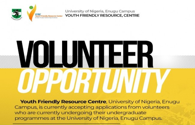 Volunteer Opportunity For UNN Students